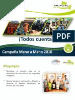 Presentacion Mano a Mano 2016