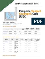 Provinces of PHL