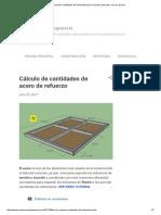 Como Calcular Cantidades de Materiales Para Concreto (Cemento, Arena y Grava)
