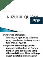 Nuzulul Qur An