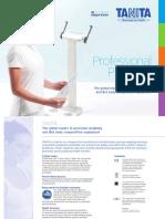 Tanita Pro Product Brochure