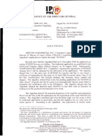 Ariston Commercial Inc. vs. Consolidated Artist b.v. Appeal No. 14 2010 0027 February 7 2014