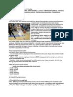 Penjelasan Pengertian Bola Basket Lengkap