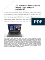 Laptop Beli