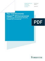 TEI of Conversocial by Forrester