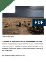 La Pérdida de Las Tierras Fértiles Aviva Una Crisis Inminente en Toda África