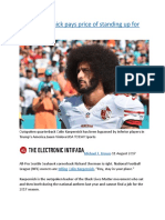 Colin Kaepernick pays price of standing up for justice.docx