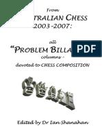 Ian Shanahan - Australian Chess (2003-2007)