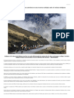 Bolivia Planea Construir Una Carretera en Una Reserva Ecológica Ante El Rechazo Indígena
