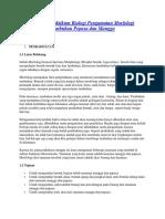 Laporan Praktikum Biologi Pengamatan Morfologi Tumbuhan Pepaya