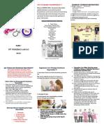 Leaflet Kesehatan Reproduksi Wanita