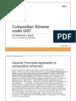 Composition Scheme Under GST 1.0
