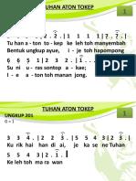 Ungkup 201 - Tuhan Aton Tokep