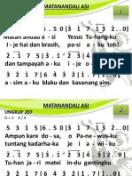 Ungkup 207 - Matanandau Asi