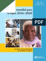 Estrategia Mundial Para La Lepra 2016-2020