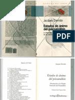 Estados de Animo Del Psicoanalisis Derrida