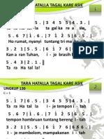 Ungkup 130 - Tara Hatalla Tagal Kare Asie