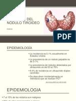 Abordaje Del Nódulo Tiroideo (1)
