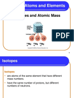 3_6 Isotopes and Atomic Mass