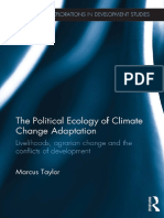 Taylor the Political Ecology of Climate Change Adaption Introduction 2015
