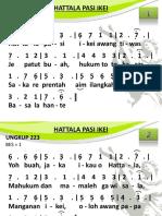 Ungkup 223 - Hattala Pasi Ikei