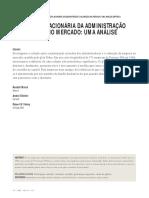 Participação Acionária Da Administração e Valoração No Mercado, Uma Análise Empírica