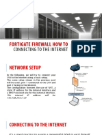 Fortigate Firewall How to Internet