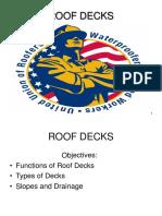 Roof Decks