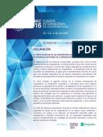 Cumbre Economía Solidaria 2016