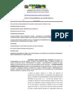 PETIÇÃO 52091 COMISSÃO DE JUSTIÇA E CIDADANIA ONG