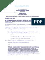 Republic Act No. 10372 (Ip Law Amendments)