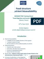 Amelie Deglaire - Food Structure _ Bioavailability