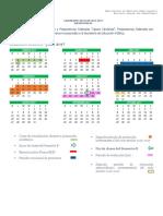 Calendario 2017 Feb Julio 2017
