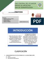 Genodermatosis, Dermatologia