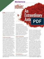 Astaxanthin Article