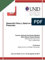 Proyecto Desarrollo Fisico y Salud en Preescolar.