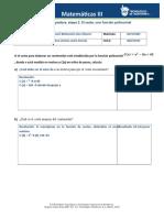 Actividad integradora, etapa 2. El costo, una función polinomial MATE III