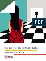 Ángela Botero Pulgarín, Inmaculada Lozano Caro - Tras el espejo del capitalismo global. Jaque a la reina negra