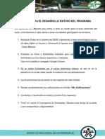 Reglas Para El Desarrollo Exitoso Del Programa GETG