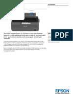 Epson LX-350 9-Pin Dot Matrix Printer Datasheet