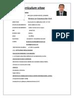 Curriculuim Mallqui (Tecnico en Edificaciones)