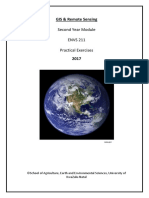 ENVS211 GIS Prac Manual 2017