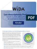 WIDA_CAN DO Kindergarten 2016 Spanishweb