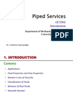 Piped services