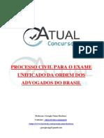 Apostila - Processo Civil Atual OAB