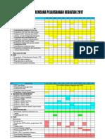 Jadwal Rencana Kegiatan Ukm
