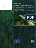 Habitat Fragmentation Due to Transprt Infrastruct COST341_Handbook
