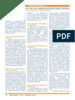 Funciones de las TIC en orientación educativa José Fernández Torres