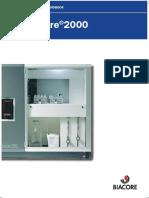 Biacore 2000 Instrument Handbook AD Web
