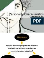 Personality Characteristics